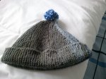 czapka z dzianiny