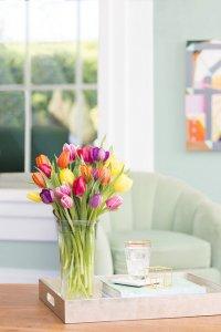wazon tulipanów