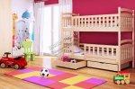 Łóżko piętrowe w pokoju dziecięcym