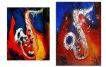 Inspiracja obrazem   saksofon